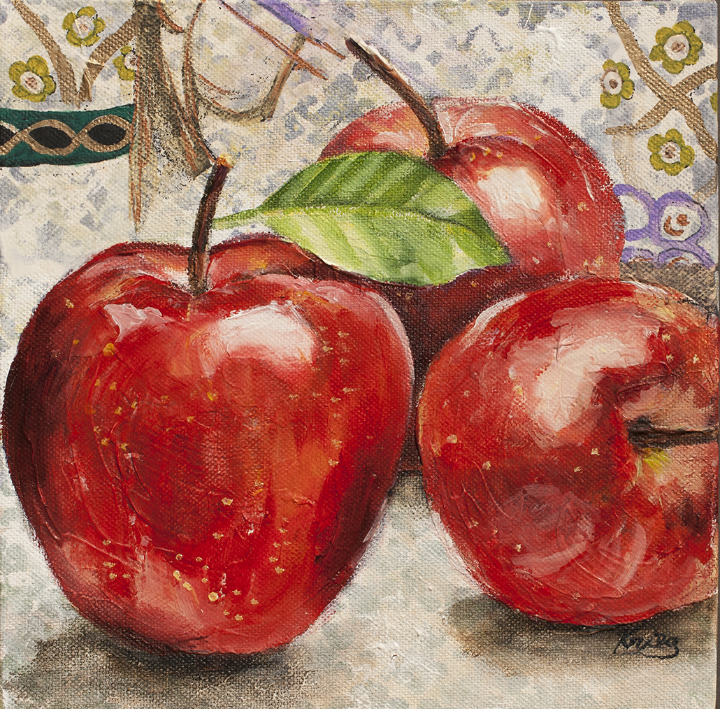 Fruit Party – New Paintings – susan krieg