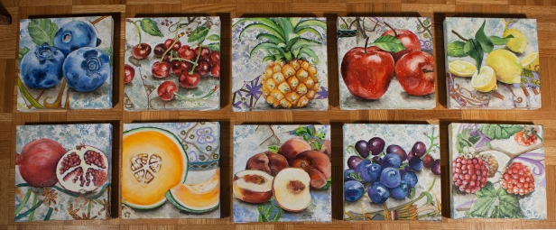 fruit group on floor small