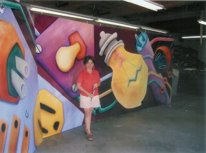 Electric Whimsy Mural
