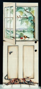 Trompe l'oeil Kitchen Door