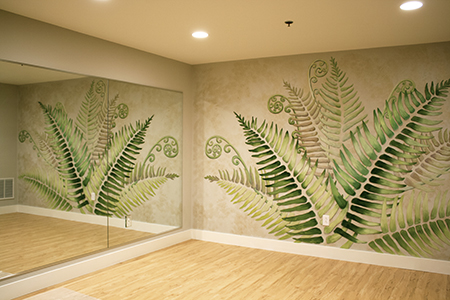 Hot Yoga Wall Painting – susan krieg