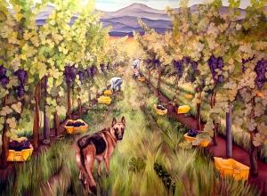 horton harvest mural