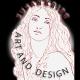 logo for susan krieg art and design