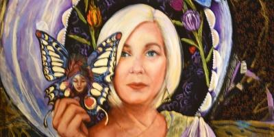 Krieg's painting of Colleen