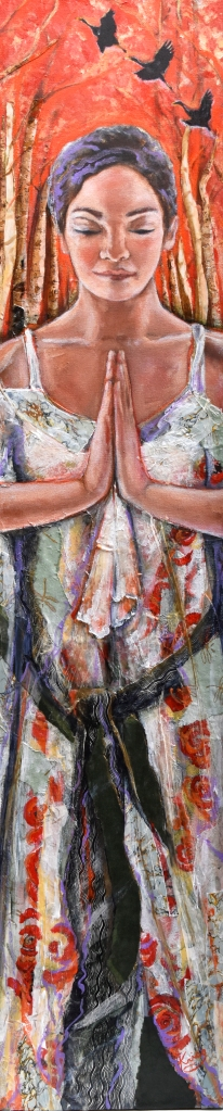 picture of painting titled Tree Pose by Susan Krieg