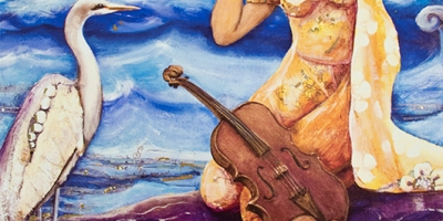 Image of woman with violin