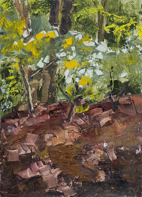 Landscape painting by Susan Krieg